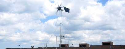 The Wind-Powered Wi-Fi Repeater