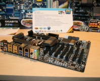 Sandy Bridge motherboard photos