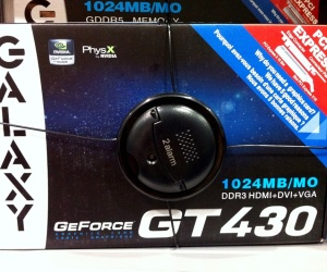 Nvidia GT430 cards leak