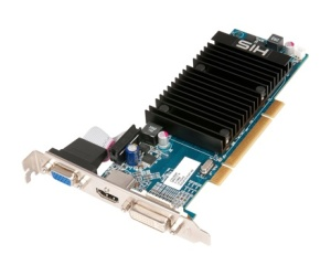 HIS launches PCI Radeon HD 5450 512MB