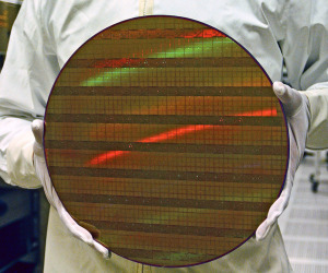 Intel plans move to 450mm wafers