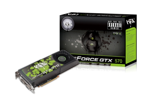 KFA2 ANNOUNCES NVIDIA® GEFORCE® GTX 570 GRAPHICS CARDS