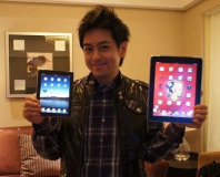 Has this Taiwanese pop star got an iPad Mini?