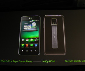 LG with NVIDIA Tegra 2 for 2011, First Pictures and Specifications
