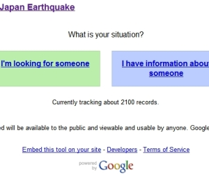 Google's Person Finder aids Japan quake victims