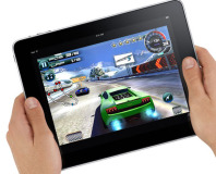 84 per cent of tablet owners play games