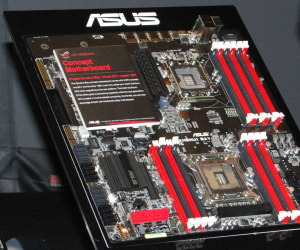 Asus shows LGA2011 concept board
