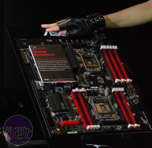 Asus shows LGA2011 concept board Asus show off LGA2022 concept motherboard