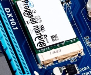 Gigabyte Z68 boards feature on-board SSD slot