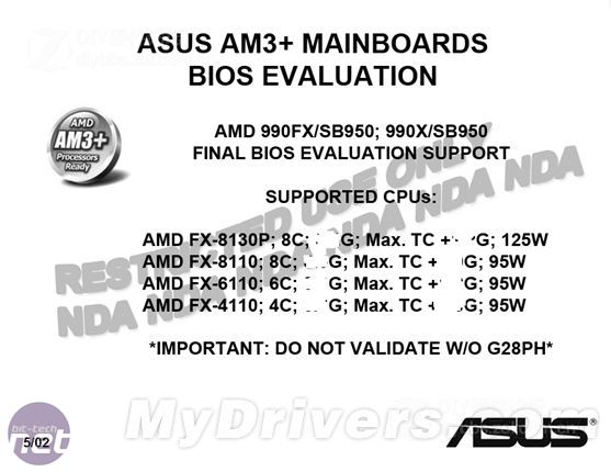 Leaked slide details AMD Bulldozer models Leaked slide details Bulldozer pricing and clock speeds