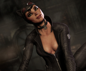 Catwoman playable in Batman: Arkham City