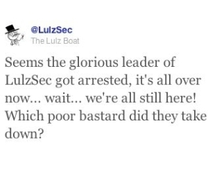 New arrest made in Anonymous and LulzSec clampdown