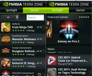 Nvidia: 50 Tegra games by 2012
