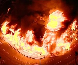 Sony's Enfield warehouse torched in London riots