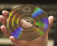 Company makes stone-like optical discs that last forever