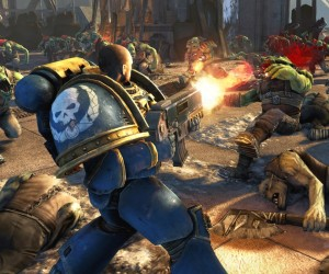 THQ confirms co-op for Space Marine