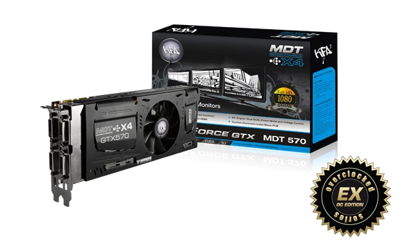 KFA2 LAUNCHES THE GTX 570 MDT X4 – THE LATEST IN THE MDT SERIES