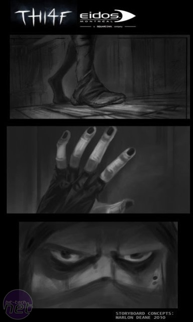 Thief 4 storyboard images leaked