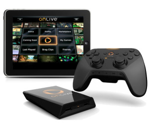 Onlive launches for tablets