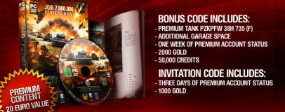 Win a copy of World of Tanks Boxed Edition