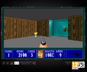 Wolfenstein 3D goes free for 20th birthday