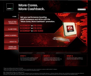 AMD launches multi-core cashback programme