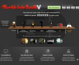 Humble Indie Bundle V goes live