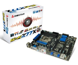 Biostar targets audiophiles with Hi-Fi Z77X motherboard