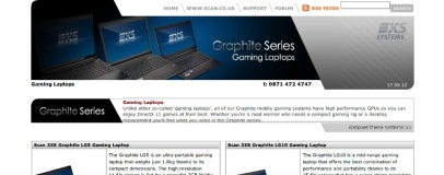 Scan launches first own-brand gaming laptops