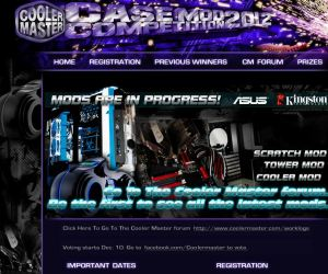 Cooler Master 2012 Case Mod Competition Update