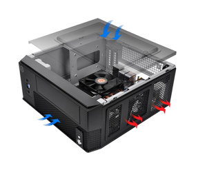 Thermaltake shows off SD101 mini-ITX case