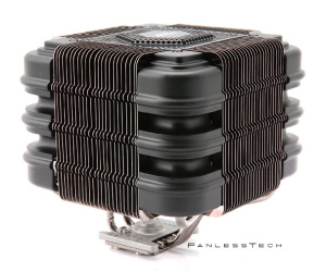 Zalman FX100 Cube passive heatsink leaks