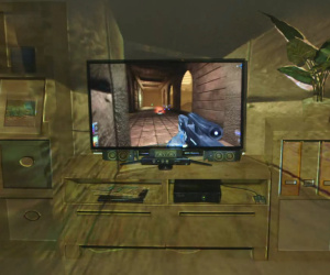 Microsoft unveils IllumiRoom gaming technology