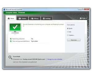 Microsoft Security Essentials fails AV-TEST again