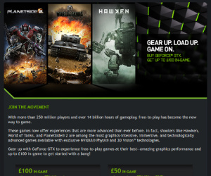 Nvidia launches Gear Up game bundle offer