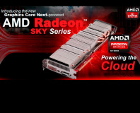 AMD launches Radeon Sky cloud gaming cards