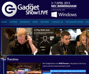 Win tickets to the Gadget Show Live