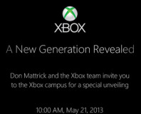 New Generation Xbox to be revealed on 21 May
