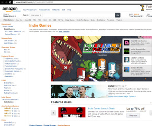 Amazon launches indie game marketplace