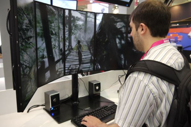 AMD goes surround gaming gaga at Computex 2013
