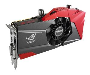 Asus introduces Poseidon watercooled graphics cards