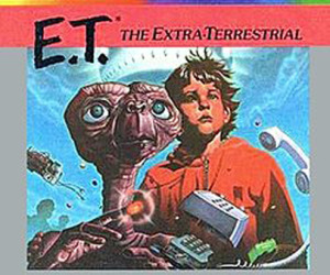 Buried E.T. cartridges to be excavated