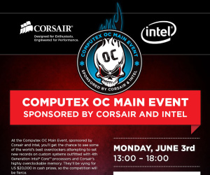 Intel and Corsair host first official Haswell overclocking contest