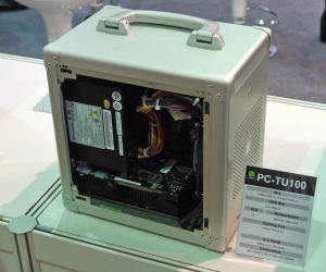 Lian Li shows off PC-TU100, one of its smallest Mini-ITX cases yet
