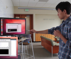 WiSee offers through-wall gesture recognition