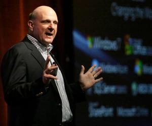 Ballmer details Microsoft re-org plan