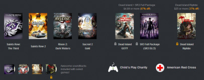 Deep Silver Humble Bundle launches