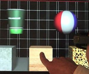 Microsoft unveils haptic feedback monitor