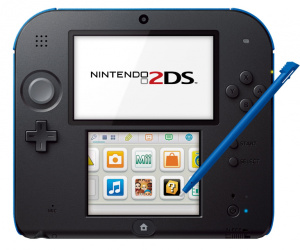 Nintendo targets kids with 2DS launch