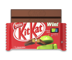 Google partners with Nestlé on Android 4.4 'KitKat'